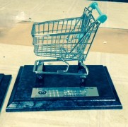 Custom award - Woolworths Trolley